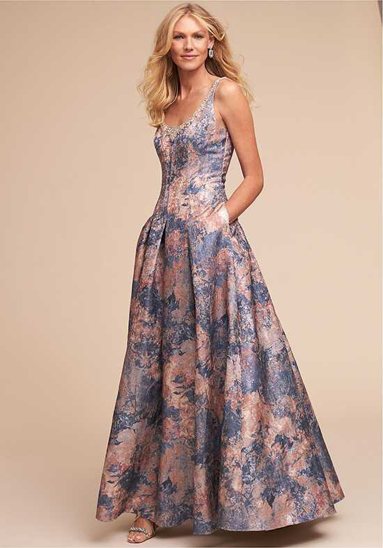 BHLDN (Mother of the Bride) Angela Dress Blue Mother Of The Bride Dress