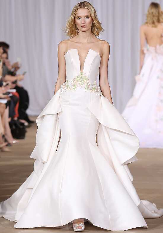Ines Di Santo Bright Mermaid Wedding Dress