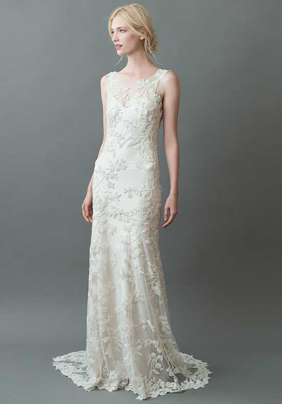 Jenny Yoo Collection Sakura {Ivory/Ivory} #1760B Sheath Wedding Dress
