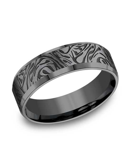 Benchmark CF847390TA Tantalum Wedding Ring