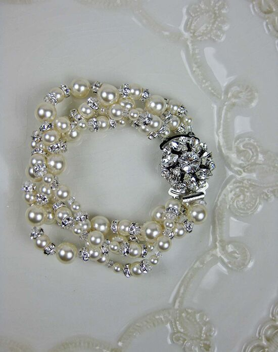 Everything Angelic Carrie Bracelet - b177 Wedding Bracelet photo