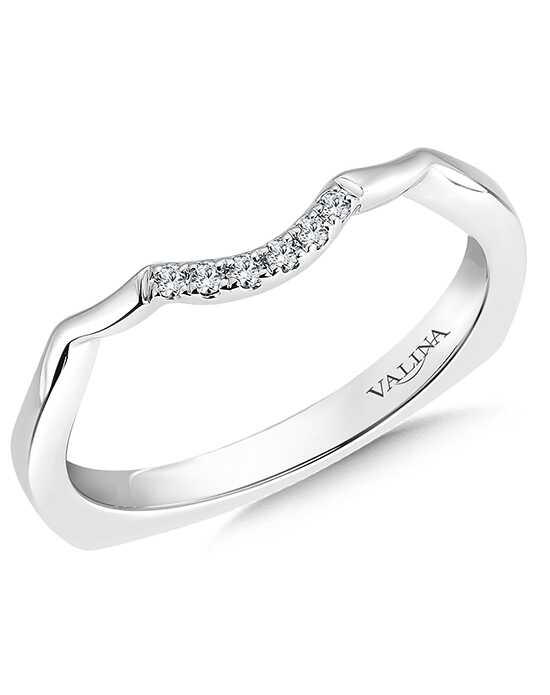 Valina RQ9348BW-DIA White Gold Wedding Ring