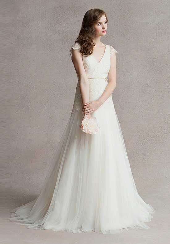 Jenny Yoo Collection Vionnet Cap Sleeves #1461BC Wedding Dress