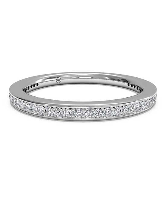 Ritani Women's Micropave Diamond Eternity Wedding Ring - in 14kt White Gold - (0.24 CTW) White Gold Wedding Ring