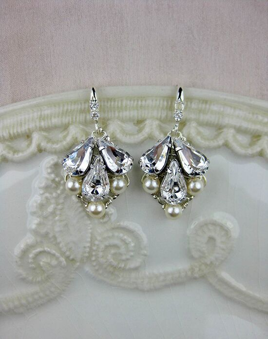 Everything Angelic Abbey Small Earrings - e327 Wedding Earring photo