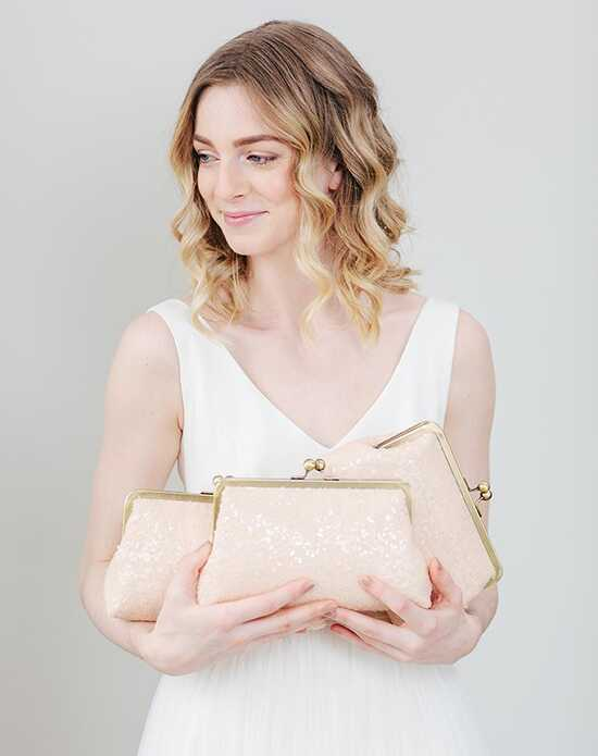 Davie & Chiyo | Clutch Collection Isla Clutch Set Pink Clutches + Handbag