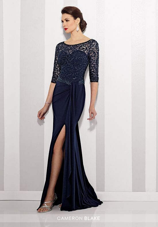 Cameron Blake 216695 Blue Mother Of The Bride Dress
