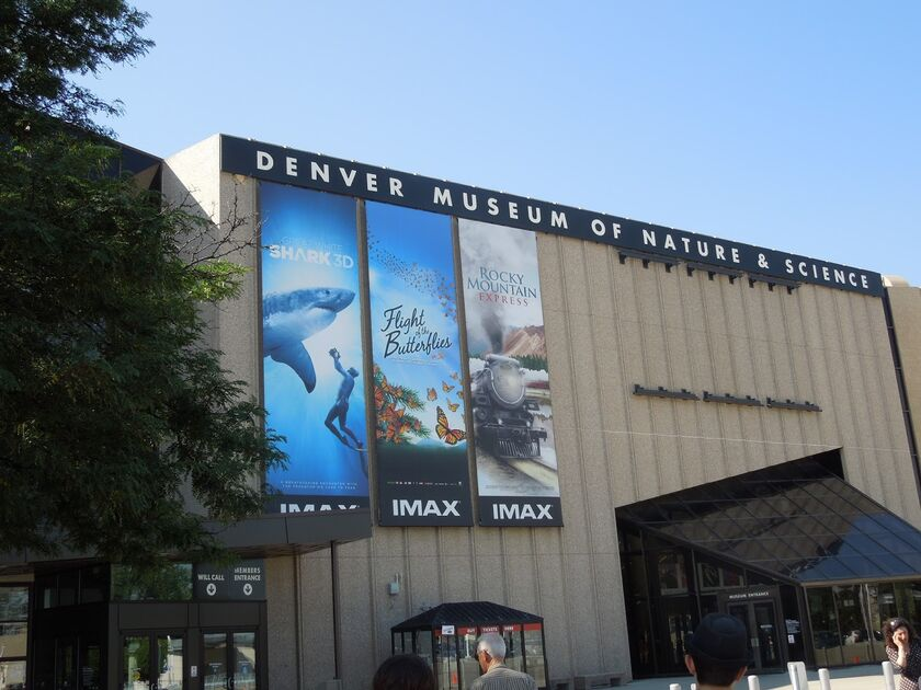 Museum Of Nature And Science Denver Co Imax