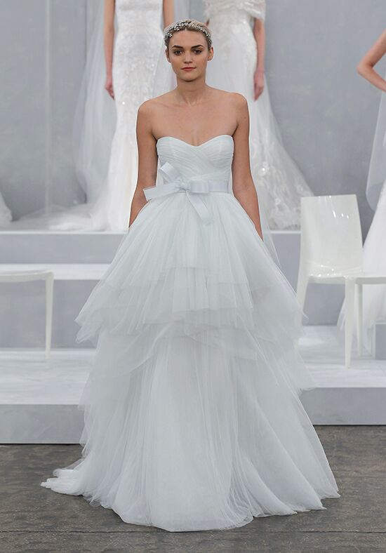 Monique Lhuillier Oceana Ball Gown Wedding Dress