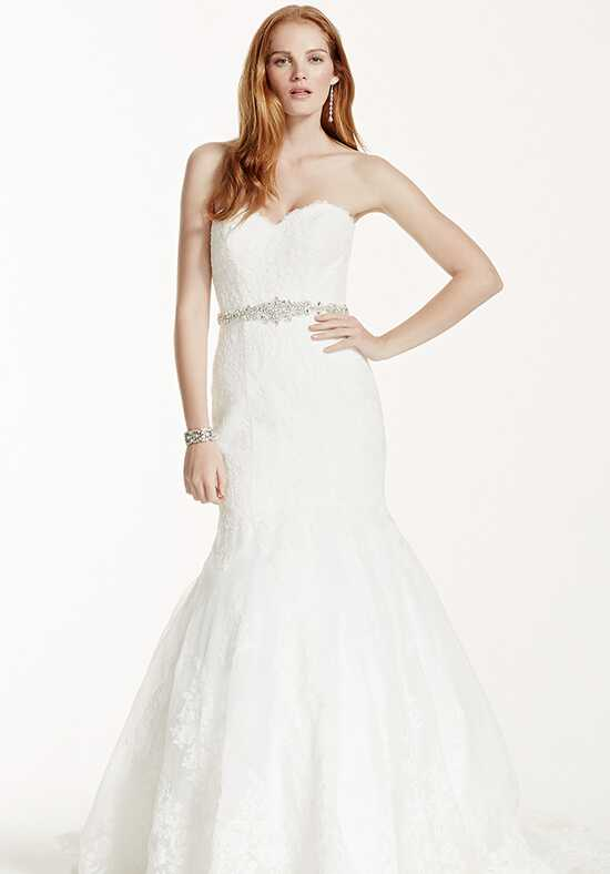 David's Bridal Galina Signature Style V3680 Mermaid Wedding Dress