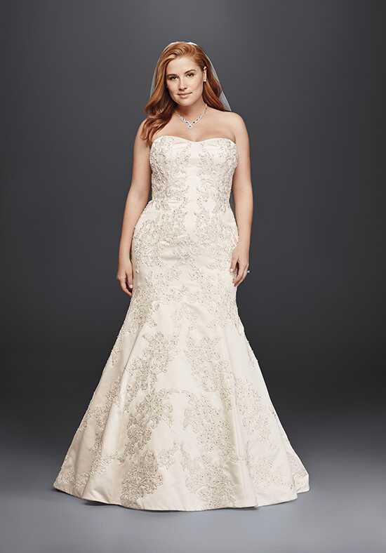 Mermaid wedding dresses oleg cassini at davids bridal oleg cassini style 8cwg594 junglespirit Image collections