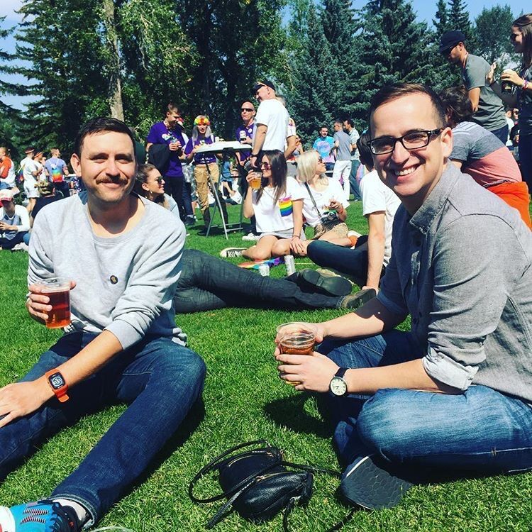Outdoor Wedding Ceremony Calgary: Ryan Lopes And Earl Ward's Wedding Website