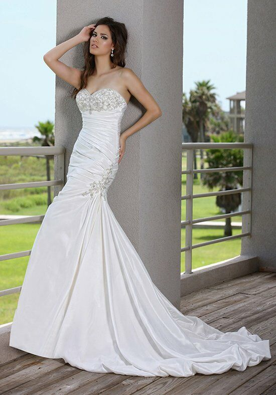 DaVinci Bridal 50237 Mermaid Wedding Dress