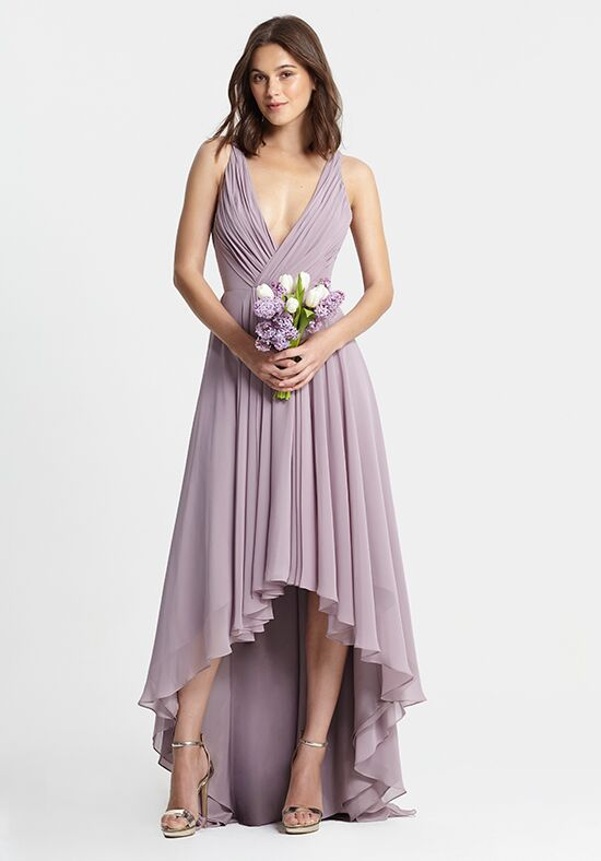 Monique Lhuillier Bridesmaids 450378 V-Neck Bridesmaid Dress