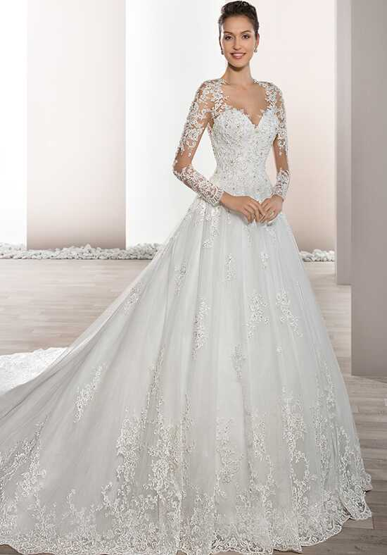 Demetrios 732 Ball Gown Wedding Dress