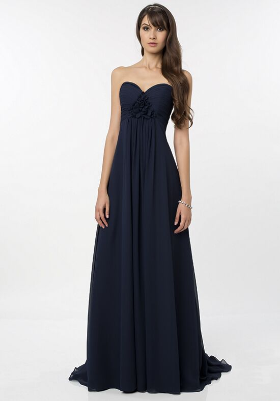 Bill Levkoff 774 Strapless Bridesmaid Dress
