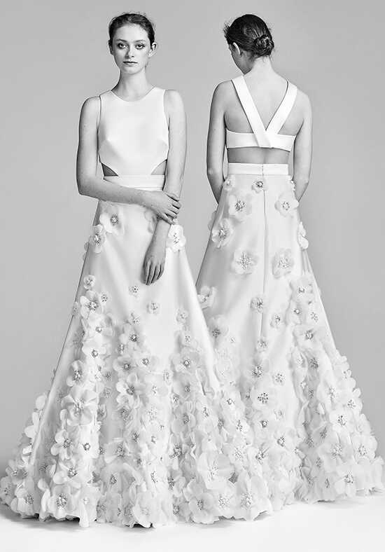 Viktor&Rolf Mariage Flower Bloom Tie Back Gown A-Line Wedding Dress
