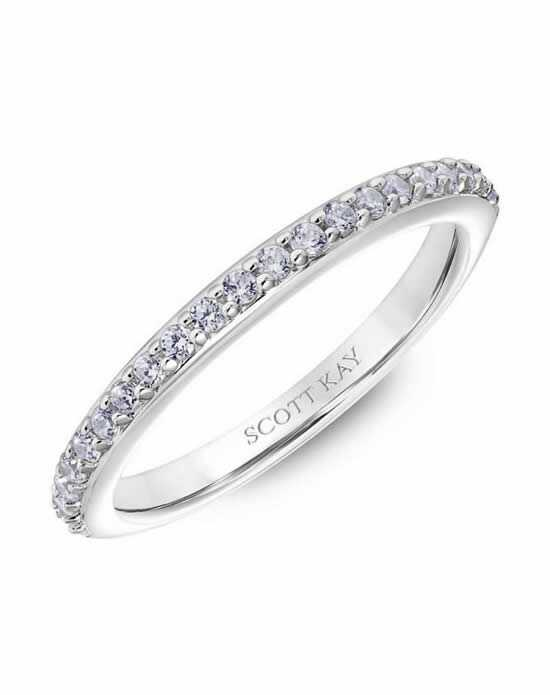 Scott Kay 31-SK5610W-L Platinum Wedding Ring