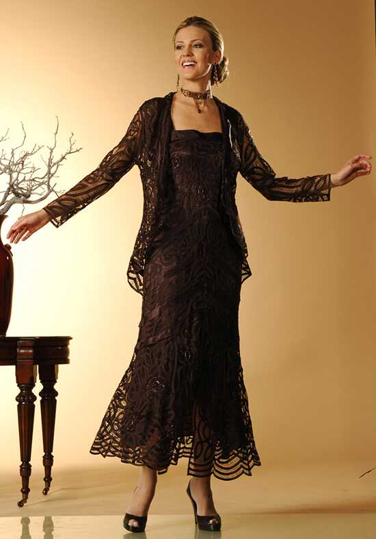 LuxeLace by Soulmates D7069 Black Mother Of The Bride Dress