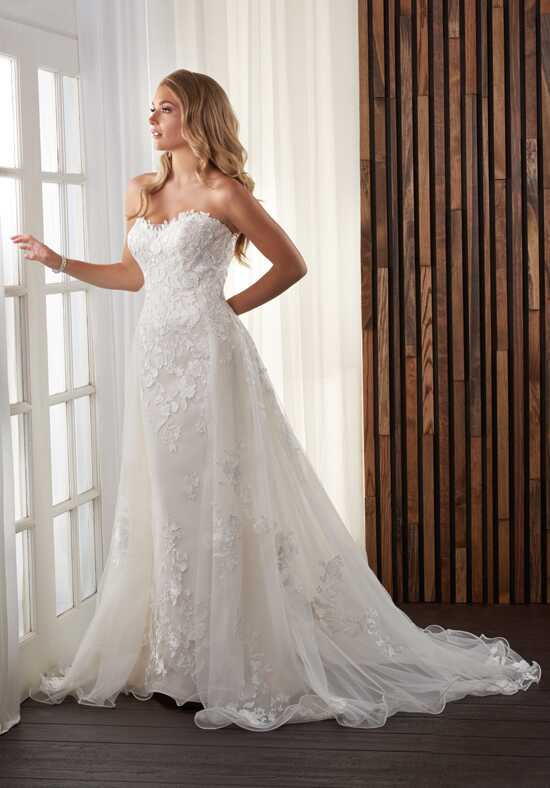 Bonny Bridal 720 Sheath Wedding Dress