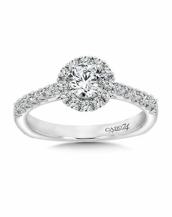 Caro 74 CR412W Engagement Ring photo