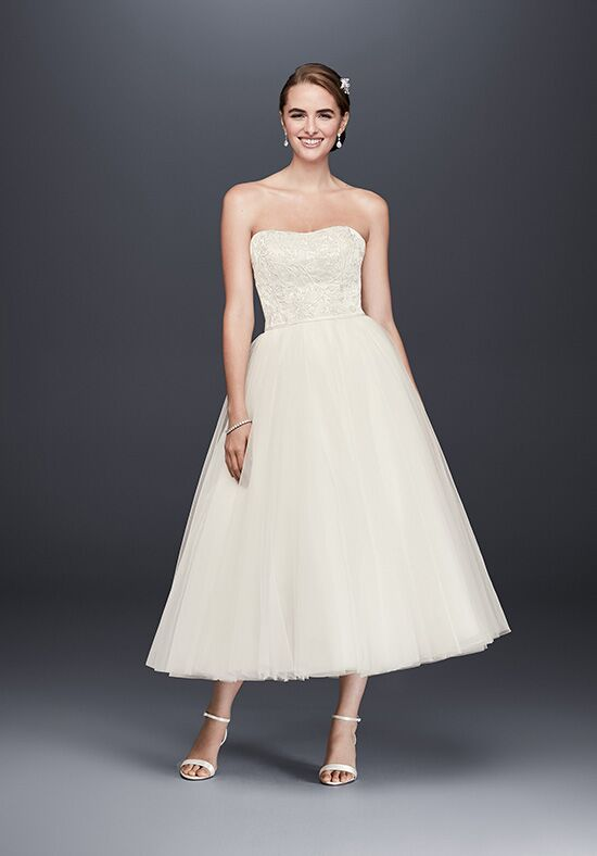 David's Bridal WG3876 A-Line Wedding Dress
