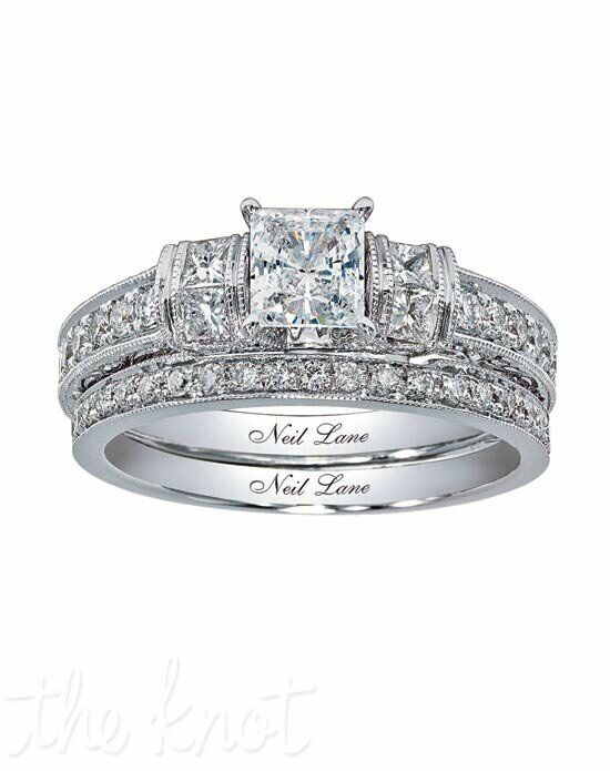 Neil lane bridal 940201611 wedding ring the knot neil lane bridal 940201611 white gold wedding ring junglespirit Choice Image