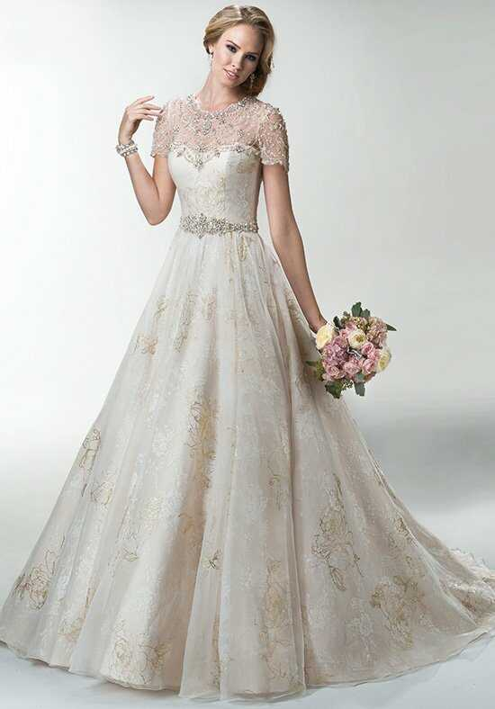 Maggie Sottero Avalon Ball Gown Wedding Dress