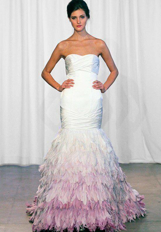 Kelly Faetanini Feathers Wedding Dress - The Knot