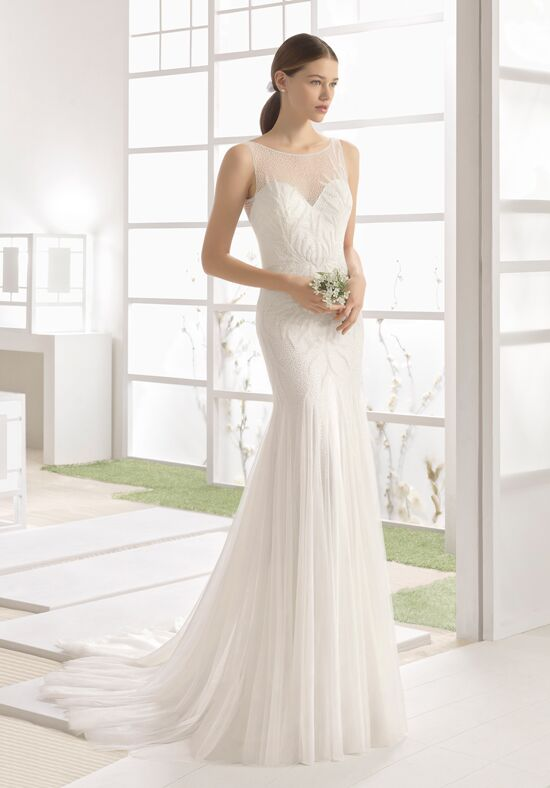 Soft by Rosa Clará Wizan Sheath Wedding Dress