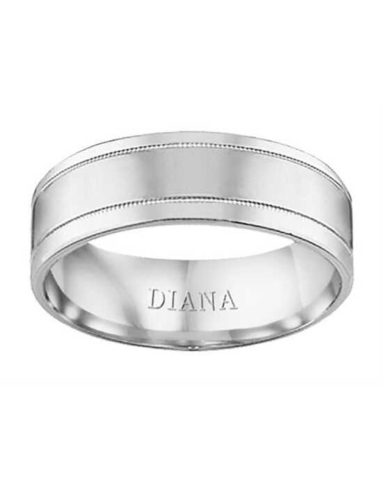 Diana 11-N6714W-G.00 Gold Wedding Ring