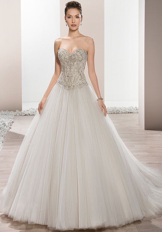 Demetrios 657 Ball Gown Wedding Dress