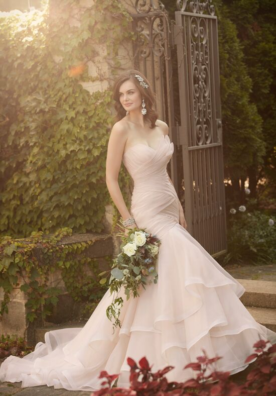Essense of Australia D2088 Mermaid Wedding Dress
