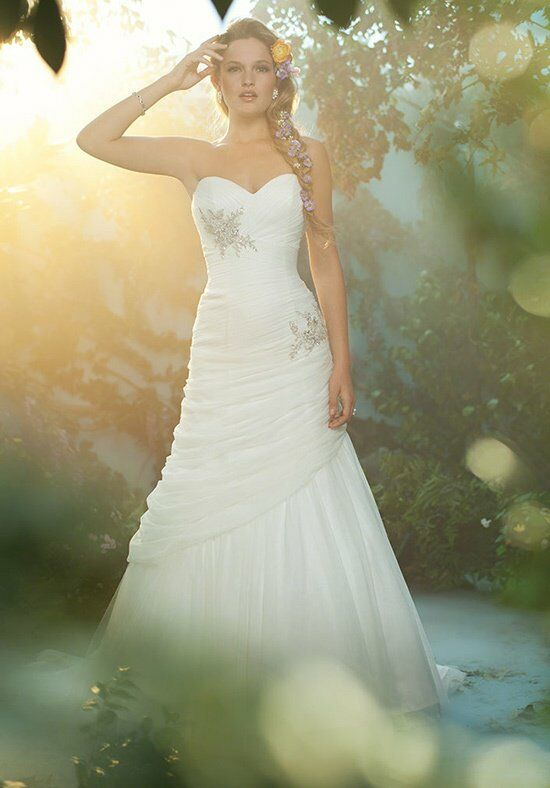 Alfred Angelo Disney Fairy Tale Weddings Bridal Collection 221 Mermaid Wedding Dress