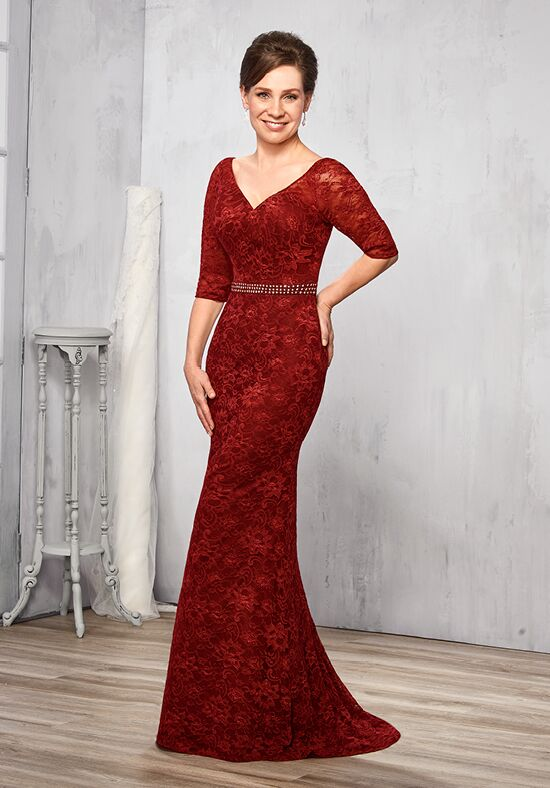 Beautiful Mothers by Mary's M2781 Red Mother Of The Bride Dress