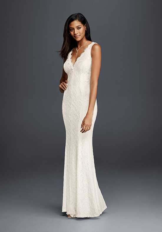 David's Bridal DB Studio Style 183626DB Sheath Wedding Dress