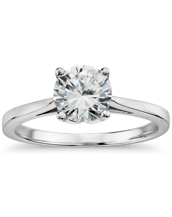 Monique Lhuillier Fine Jewelry Cathedral Solitaire Engagement Ring Engagement Ring photo