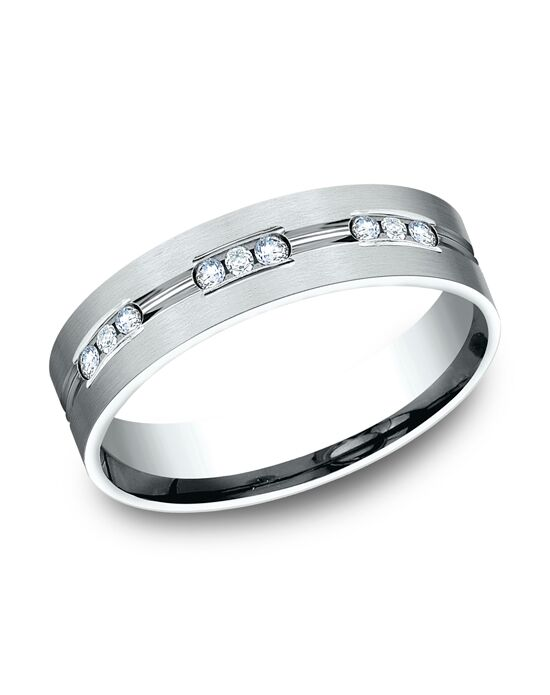 Benchmark CF526533W White Gold Wedding Ring