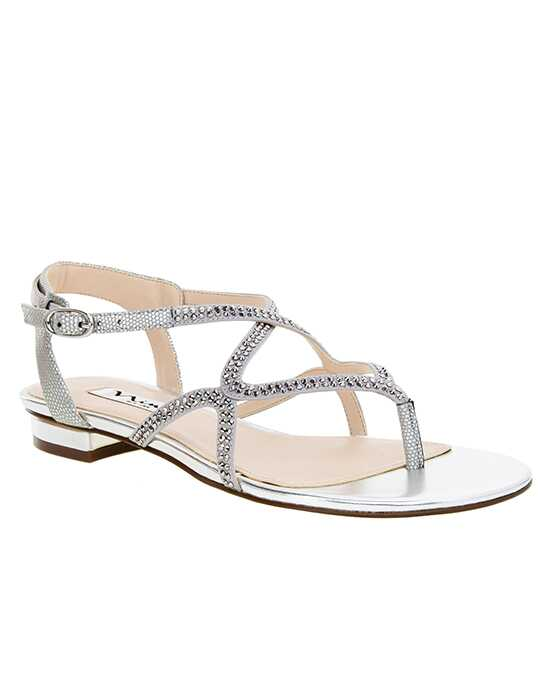 Nina Bridal Wedding Accessories Kyerra Silver Shoe