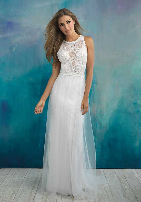 Allure Bridals 9518 Sheath Wedding Dress