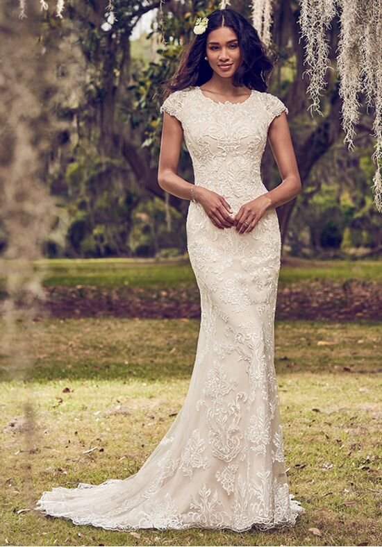 Maggie Sottero Daisha Sheath Wedding Dress