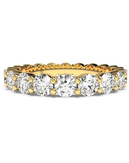 Ritani Women's Slim Round-Cut Diamond Prong-Set Eternity Band - in 18kt Yellow Gold - (2.00 CTW) Gold Wedding Ring