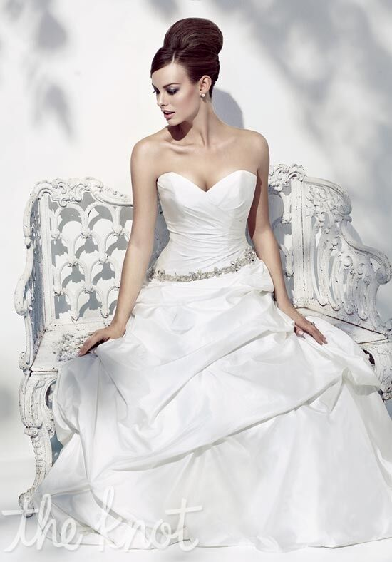Simone Carvalli 7176 A-Line Wedding Dress