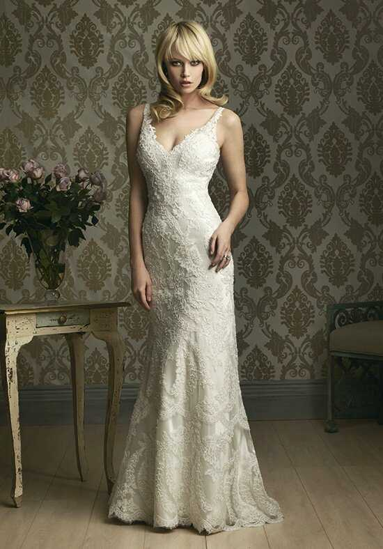Allure Bridals 8856 Sheath Wedding Dress