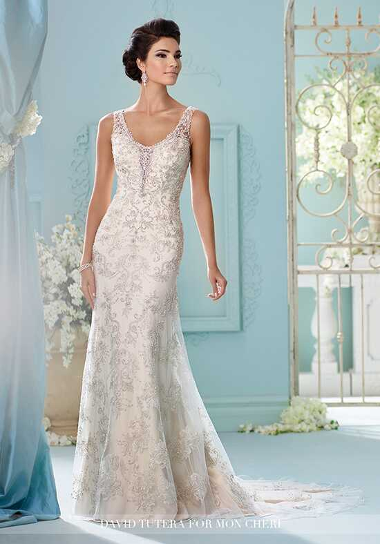 David Tutera for Mon Cheri 216237 Kaltrina Mermaid Wedding Dress
