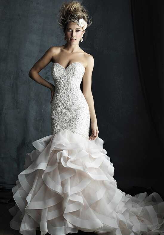 Allure Couture C389 Mermaid Wedding Dress