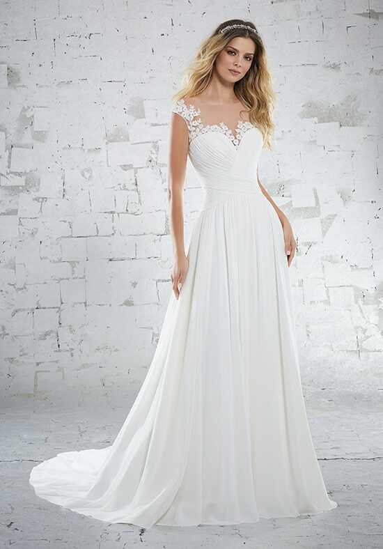 Morilee by Madeline Gardner/Voyage Kamella/6885 A-Line Wedding Dress