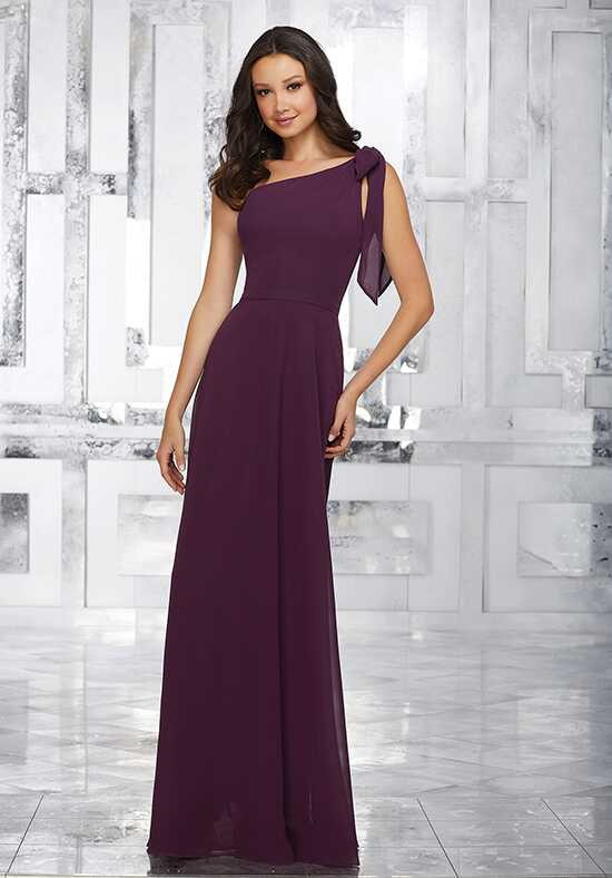 Morilee by Madeline Gardner Bridesmaids Style 21539 One Shoulder Bridesmaid Dress