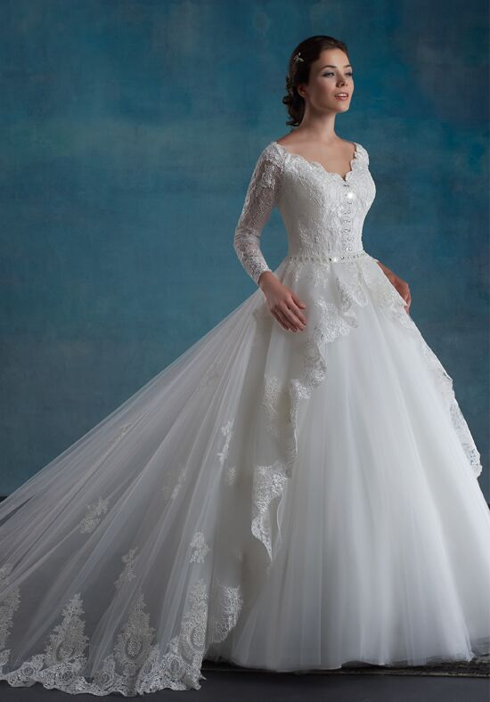 1 Wedding by Mary's Bridal 6531 Ball Gown Wedding Dress