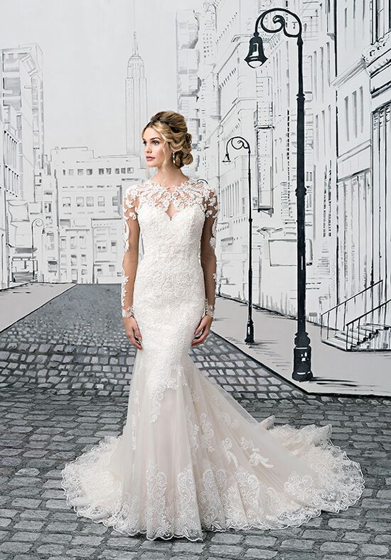 Justin Alexander 8905 A-Line Wedding Dress